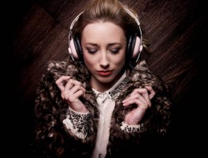 Image of a female DJ available for private events
