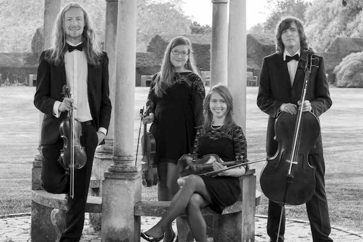 Hire Top String Quartets Wedding Entertainment Oxford