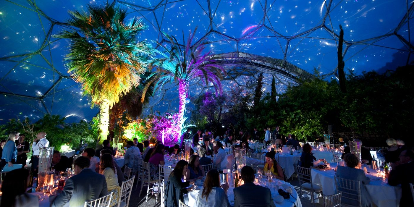 Venue of the Week   The Eden Project   Mediterranean Biome   Elastic Lounge