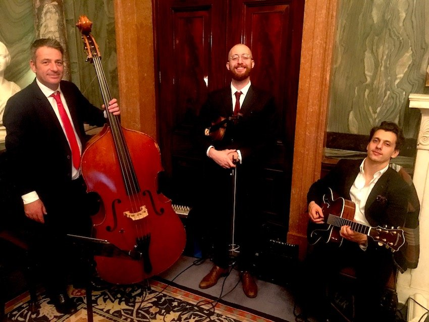 Elastic Lounge Jazz Band performs at Drapers Hall | London Events