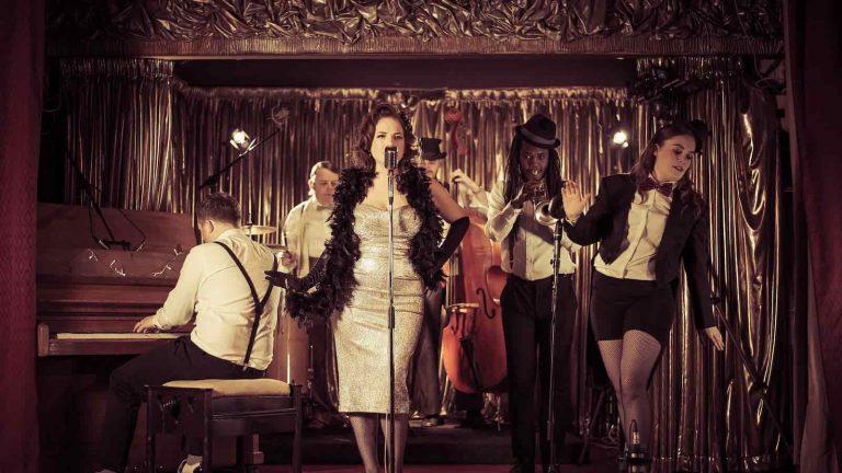 Post Modern JukeBox Style Wedding & Events Bands | Vintage Band for Hire | Gatstby's Jukebox