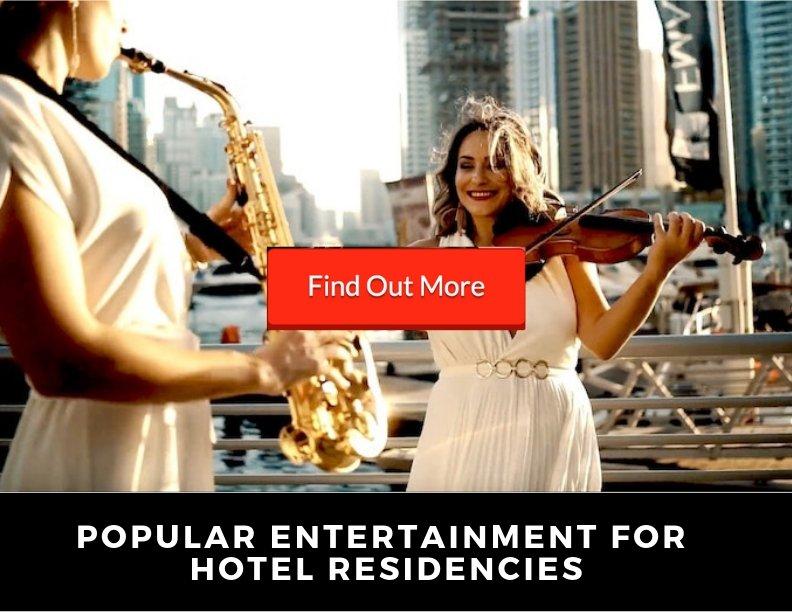 Popular Entertainment for Hotel Residencies Link | Elastic Lounge