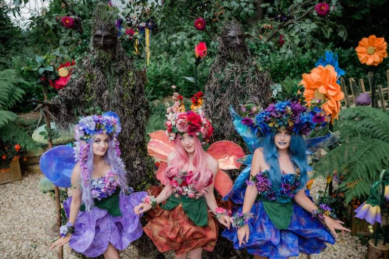 Circus Acts & Performers for Hire - FLOWER FAIRIES min