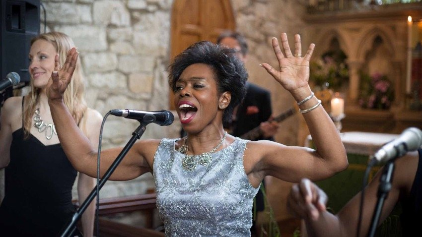 Cornwall Gospel Wedding Singers for Hire - The Grace Notes - Available at Elastic Lounge Entertainment