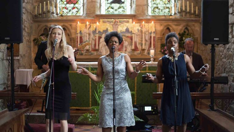 Cornwall Gospel Wedding Singers for Hire - The Grace Notes - Elastic Lounge Entertainment