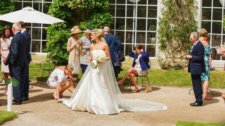"The image is of a bride outside the amazing Cornwall wedding venue Mount Edgecombe in Cremyll, Torpoint PL10 1HZ Elastic Lounge will be providing a bespoke Jazz Wedding Package on 29th August 2020 for a fantastic wedding couple getting married in Cornwall. The Wedding Package will in include: 1. Cornwall's most popular jazz pianist performing during the wedding ceremony for bridal entrance, signing of the register and exiting. 2. Cornwall's most well known Jazz Quartet "" Licence to Swing"" performing during the drinks reception and the most popular Jazzz musicians in Cornwall ""West End Duo"" performing during the wedding breakfast."